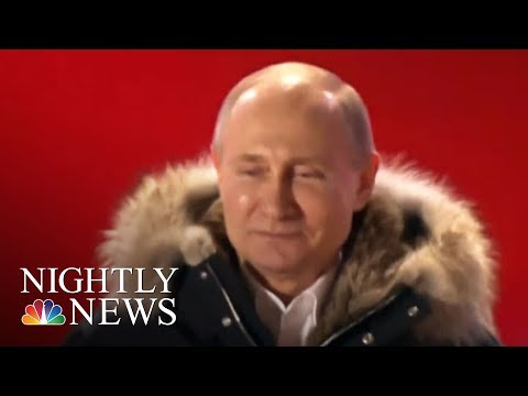 Vladimir Putin wins re-election for fourth term | NBC Nightly News