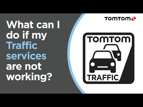 What can I do if my Traffic services are not working?