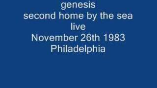 genesis- second home by the sea (live)
