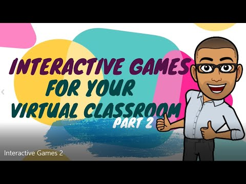 Interactive Games Using Google Slides for Your Bitmoji Virtual Classroom Part 2