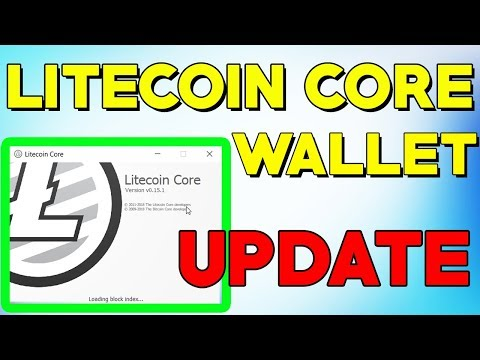 How To Update Your Litecoin Core Wallet