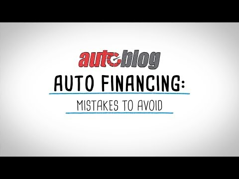 Auto Financing | Mistakes To Avoid