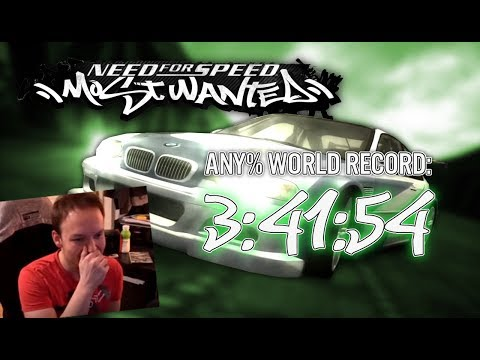 NFS Most Wanted Any% 3:41:54 World Record Speedrun By KuruHS