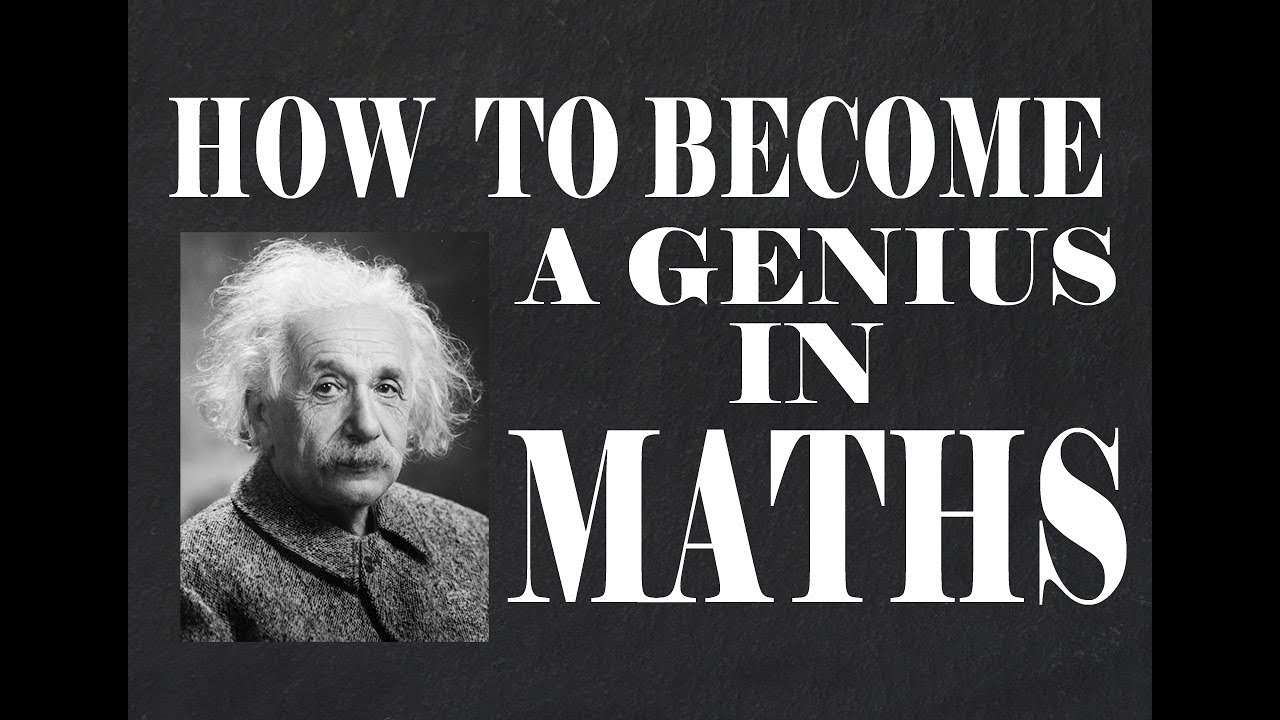 How to become a Math Genius.✓ How do genius people See a math ...