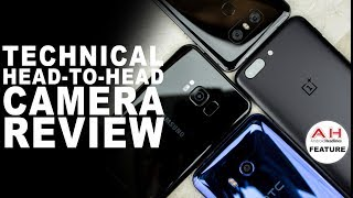 Technical Camera Review - OnePlus 5 vs Galaxy S8 vs HTC U11 vs LG G6