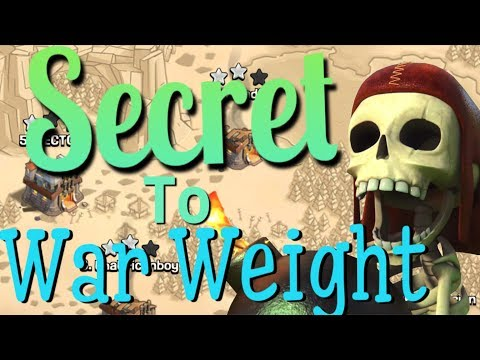 War Weight UNCOVERED?!?! - Clash Of Clans