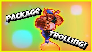 New package glitch trolling on Dragonball z final stand [ Roblox ]