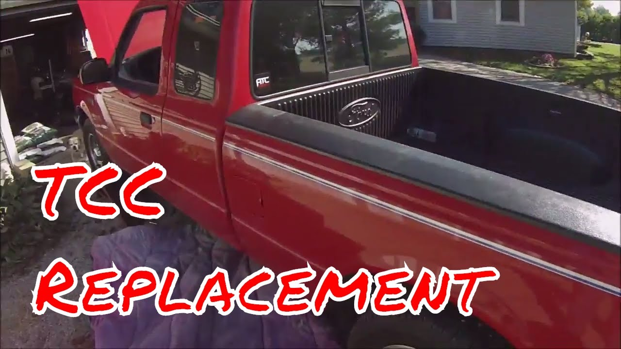 Replacing the TCC Solenoid On Ford Ranger