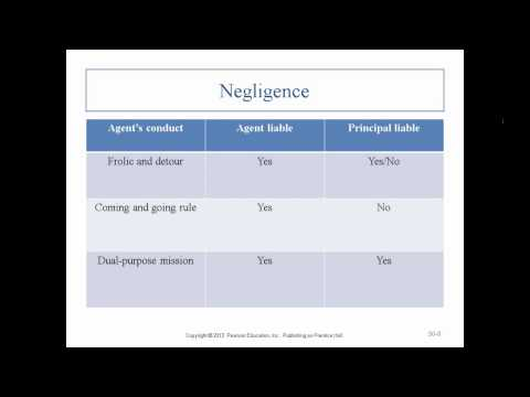 Business Law II - Professor Sharma (Lecture 4, Chapter 30 -