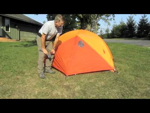 Marmot Limelight 2 Set-up Part 2 0f 2 & Marmot Limelight 2 Set-up Part 2 0f 2 - YouTube