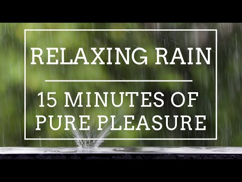 Relaxing heavy rain sound.