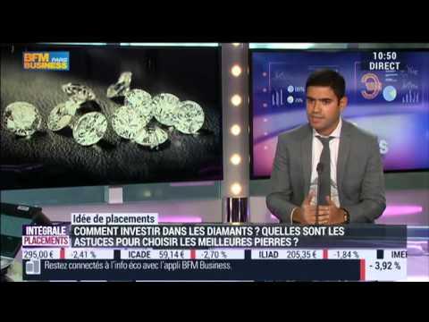 Diamants d'investissement