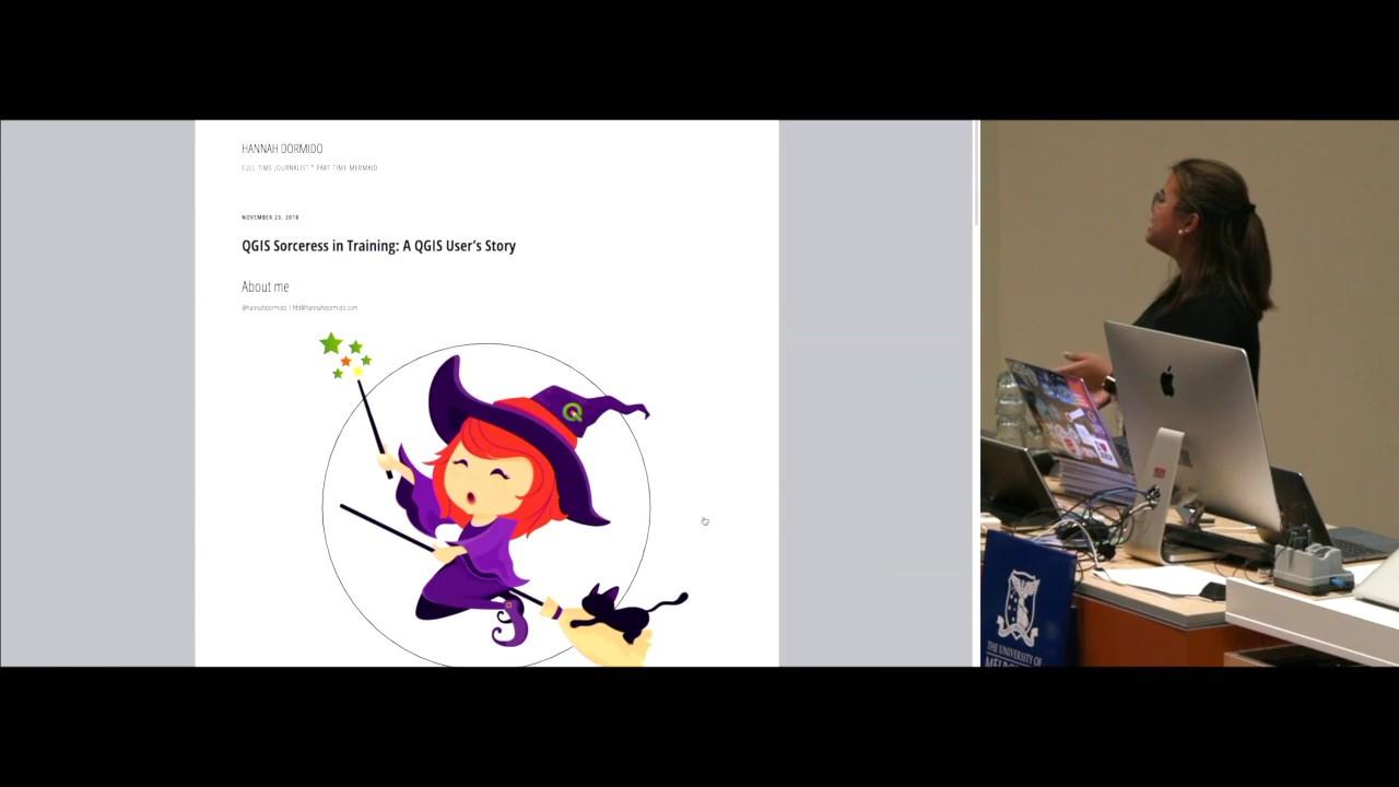 QGIS Sorceress in Training: A QGIS User's Story – Hannah Dormido
