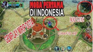 MOBA PERTAMA DI INDONESIA YG SEKARANG DILUPAKAN???    Heroes Of Order & Chaos
