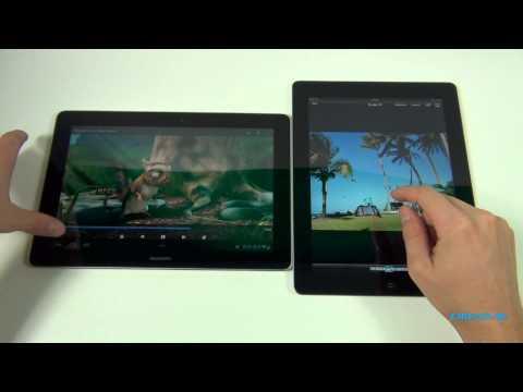 Huawei MediaPad 10 FHD vs. Apple iPad 4 - English