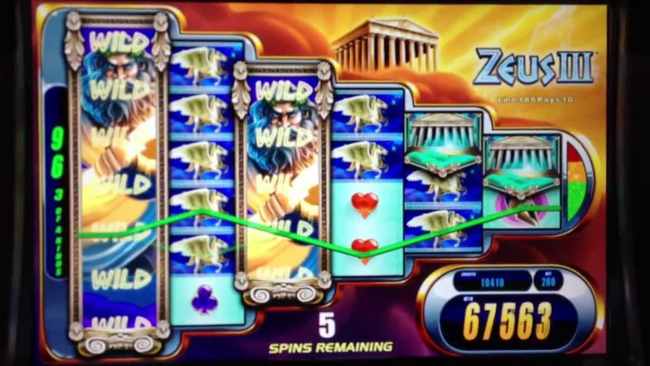 Zeus Iii Slot Machine Bonus Win Youtube