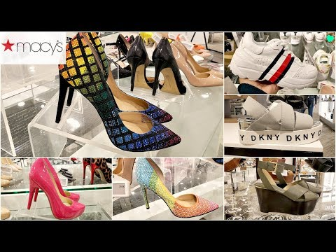 MACY'S SHOE'S SHOP WITH ME HEELS SNEAKERS GLAM 2019