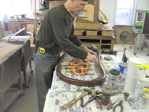 Restoring a Bentwood Settee - Thomas Johnson Antique Furniture Restoration