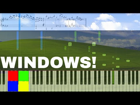 windows-sounds-on-piano!