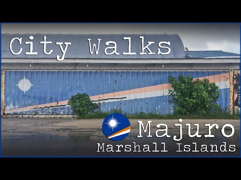 CITY WALKS: Exploring Majuro, Marshall Islands 🇲🇭