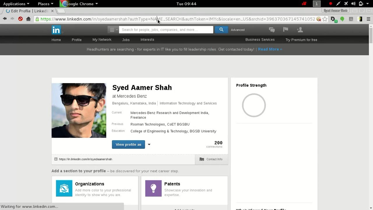 How To Find Linkedin Id Number