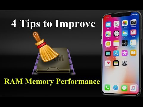 (Solved) Clear RAM Memory Performance on iPhone iOS 12