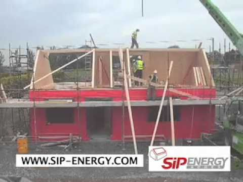 Se126 Sip Energy House Construction Video Youtube