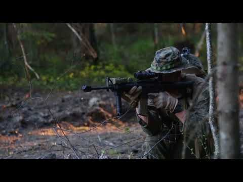 DFN:Exercise Hedgehog: B-Roll, Platoon Counter Attack, TORU, ESTONIA, 05.02.2018