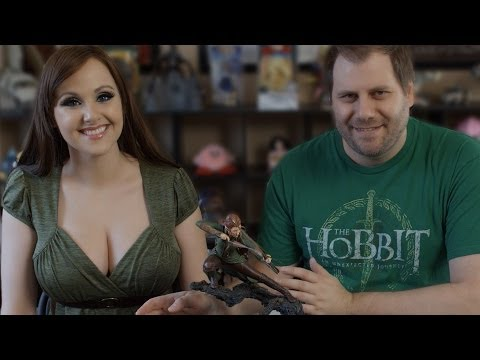 Tauriel Desolation of Smaug Statue Unboxing Weta Figure - Toys Ahoy! Ep. 2 | Screen Team