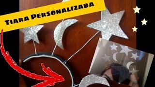 Como fazer Tiara personalizada em casa - samuell Almeida