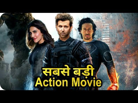 Hrithik Roshan    Tiger Shroff    Vaani Kapoor    World Biggest Action Movie Hrithik Vs Tiger Dance