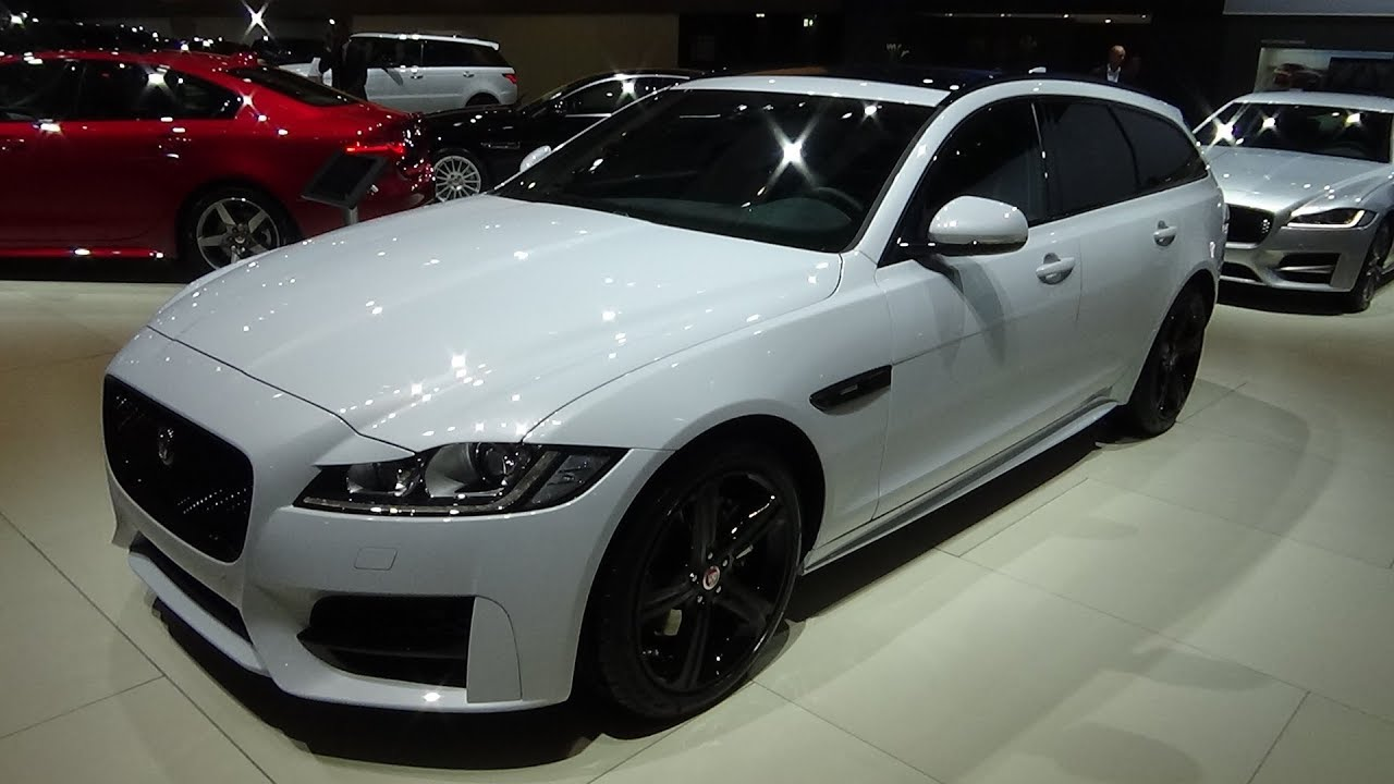 2018 jaguar xf sportbrake r sport 2 0 business exterior and interior auto show brussels 2018. Black Bedroom Furniture Sets. Home Design Ideas