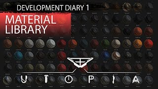 Utopia Syndrome: Development Diary 1 - Material Library