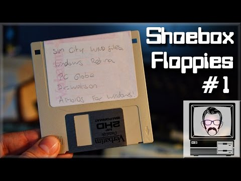 What the HELL is on my Disk #1 - DOS & Windows Floppy Disks | Nostalgia Nerd