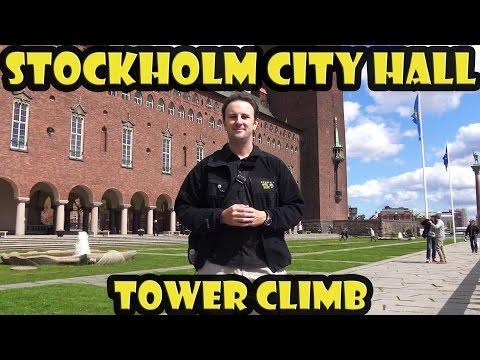 Stockholm City Hall Tower Climb