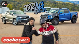 DRAG RACE Ford F-150 Raptor vs Volkswagen Amarok | coches.net