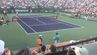 Nadal Vs Zverev - BNP Paribas Open 2016 - Best Point and Time Violation for Zverev