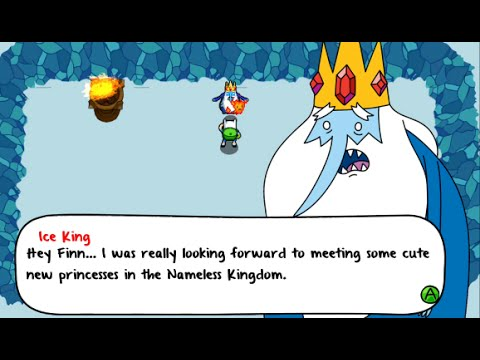 Adventure Time: The Secret of the Nameless Kingdom Walkthrough Part 3 - Flambo