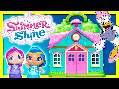 SHIMMER & SHINE Nickelodeon Shimmer and Shine Character Surprise Live Action Funny Kids Video