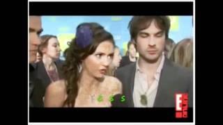 IAN, PAUL & NINA funny moments part 3 Mash-up Interviews VAMPIRE DIARIES