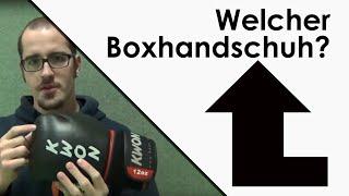 Welcher Boxhandschuh für Kampfsport?