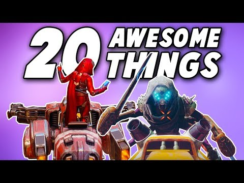 20 Awesome Things You Might Not Have Known About in Destiny 2!