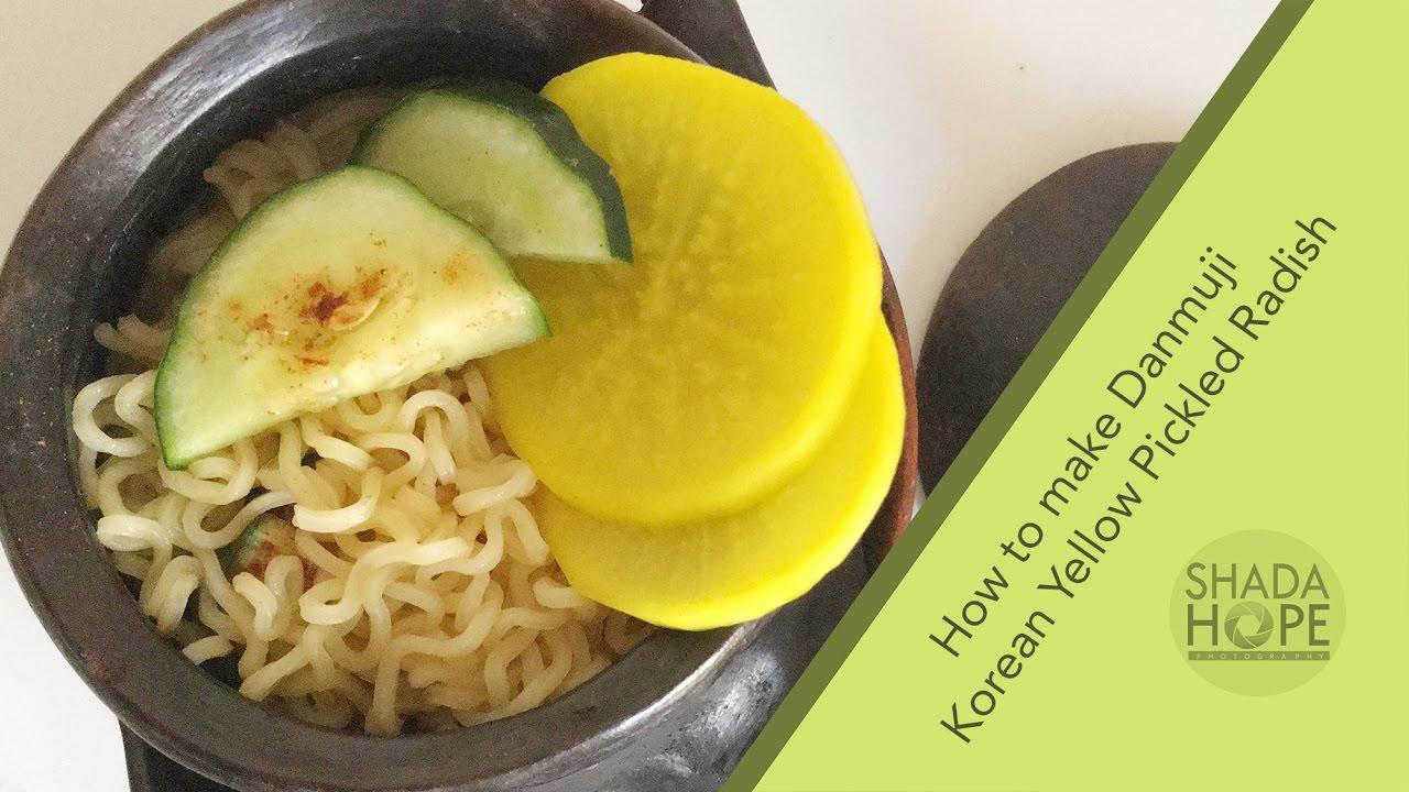 How To Make Danmuji Korean Yellow Pickled Radish Youtube