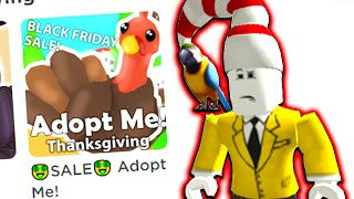 playing Roblox Adopt Me for the FIRST TIME Video