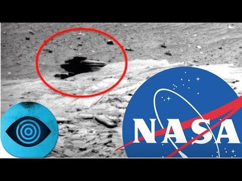 Verheimlicht die NASA Alien-Gebäude auf dem Mars?