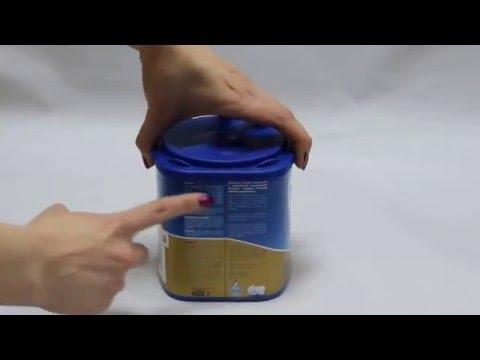 Адаптированная молочная смесь Nutrilon Premium 1, 400г