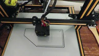 📌 CR-10 3D Printer Bed using Manual Levelling first then a New GCode Levelling plus the First Print