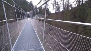 Crossing the world's longest suspension bridge : the Highline 179