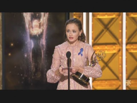 Alexis Bledel wins Emmy Award for The Handmaid's Tale 2017