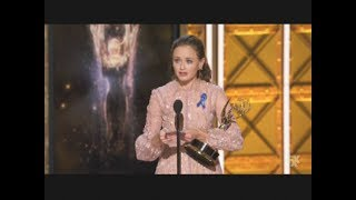 Alexis Bledel wins Emmy Award for The Handmaid